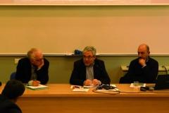 Sono intervenuti: Meir Bar-Asher (Ebrew University of Jerusalem) – Luigi Territo SI (esperto di dialogo interreligioso e studente del biennio) – Ambrogio Bongiovanni (docente PFTIM sez. S. Luigi).