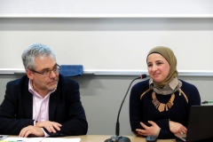 """Rima abu Katish, arabo-israeliana, fondatrice dell'associazione Salametcom (""""Essere in salute"""") per il supporto dei pazienti palestinesi in Cisgiordania e Gaza."""