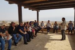 7. Foto di gruppo a Qumran