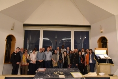 3. Foto di gruppo alla Sinagoga Hecht della Hebrew University of Jerusalem