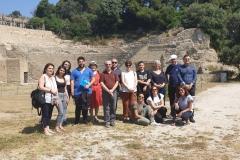 Il vissuto: élites e <i>otium</i>. Parco archeologico Pausilypon. Riflessione sulla cultura delle élites tra arte, storia e filosofia.